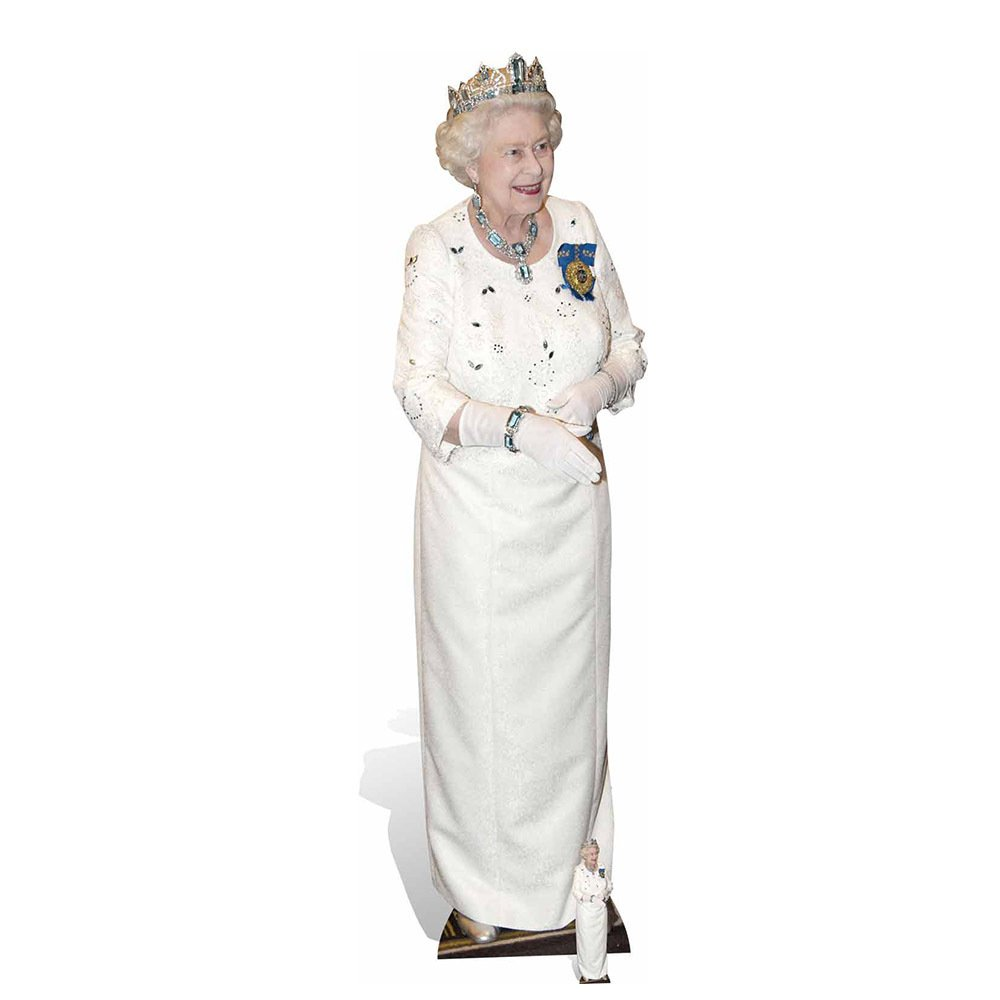 Star Cutouts British Royal Family Queen Cardboard Cutout