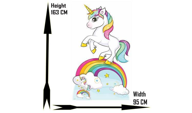 Buy Star Cutouts Rainbow Unicorn Cardboard Cutout Cardboard Cutouts Argos