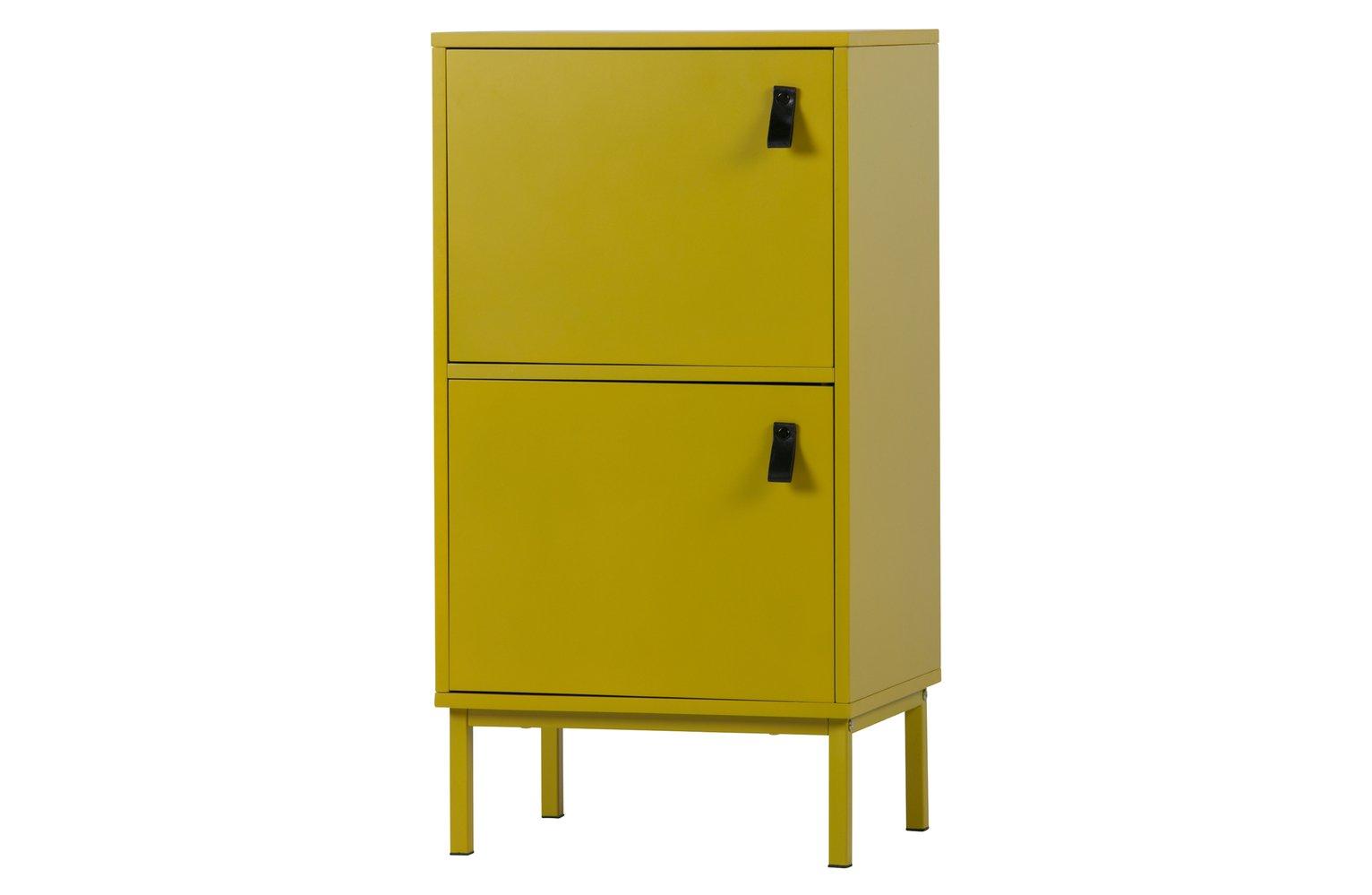 Woood Nico Mustard 2 Door Cabinet