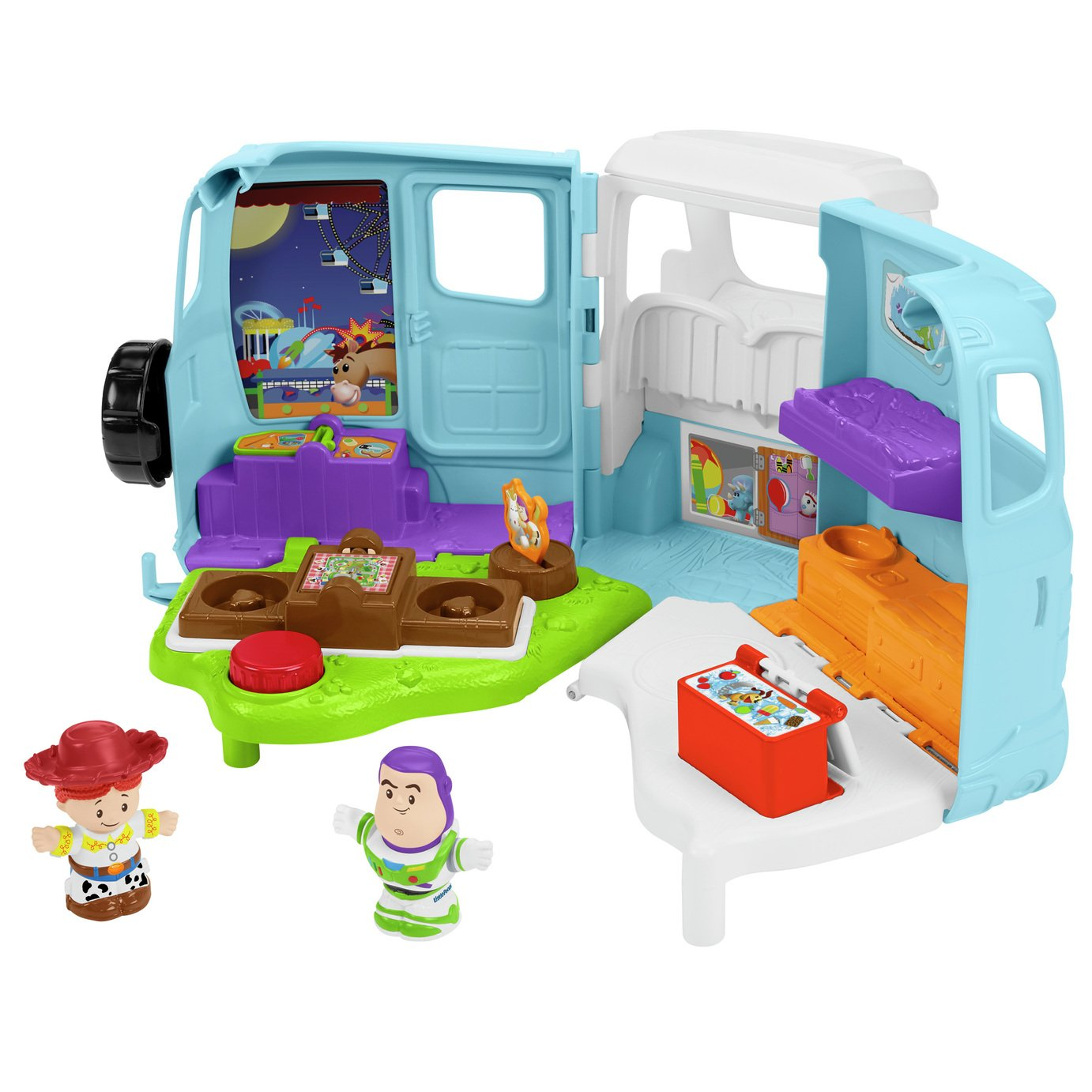 Disney Pixar Toy Story 4 Jessie's Campground RV Playset