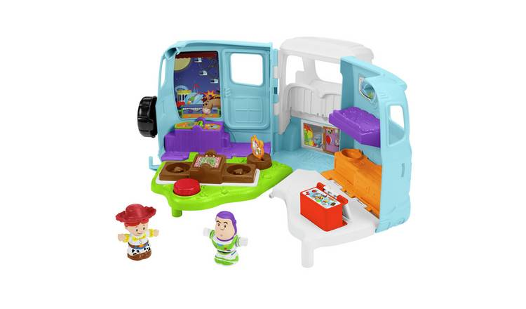 Fisher-Price Little People Disney Toy Story 4 Jessie's RV