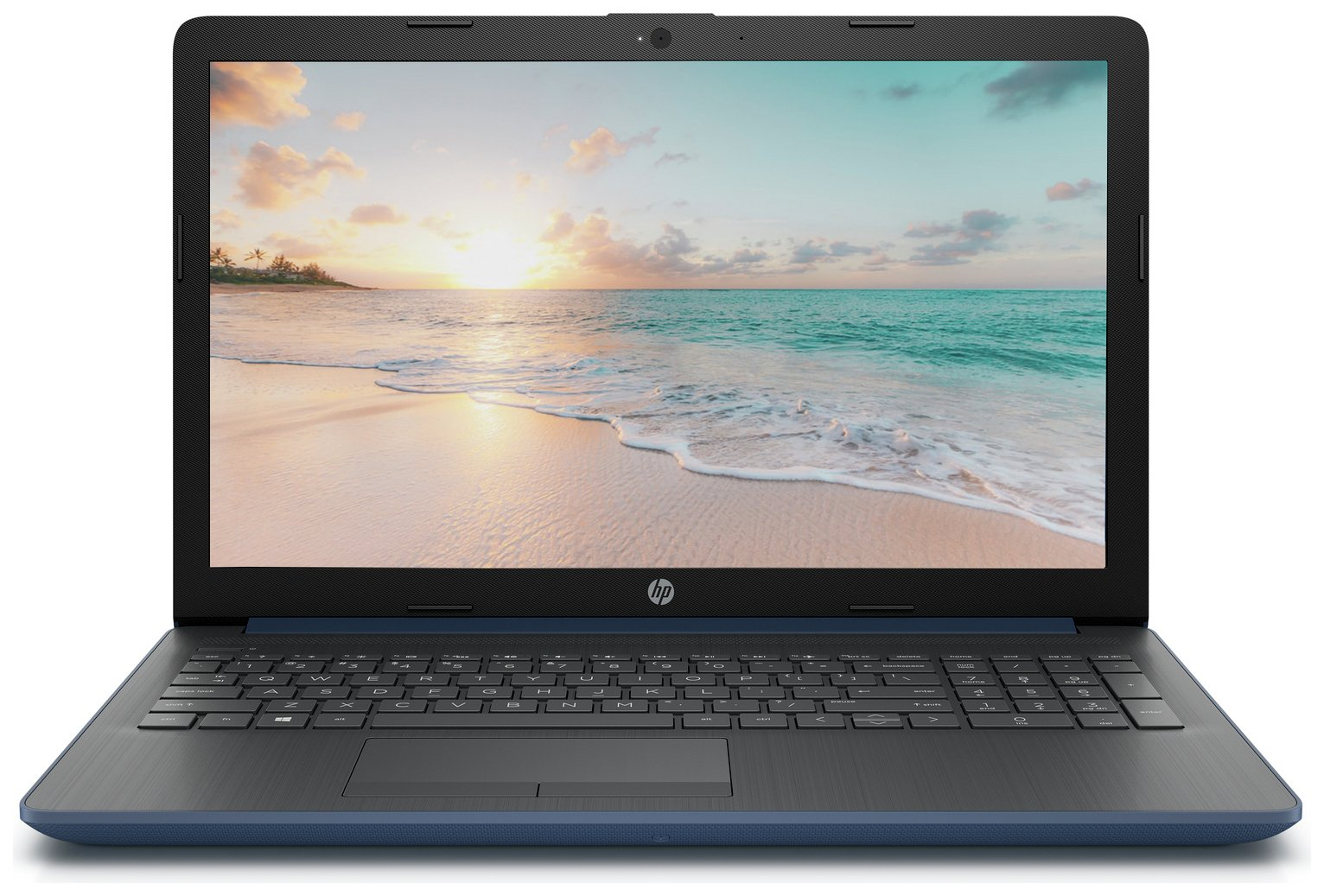 HP 15.6in AMD A4 4GB 1TB Laptop - Blue