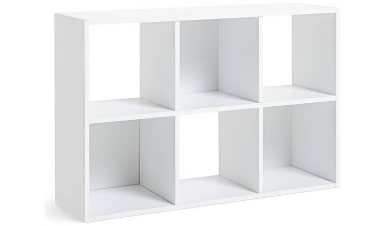 Buy Argos Home Squares 6 Cube Storage Unit - White | Storage units and  drawers | Argos