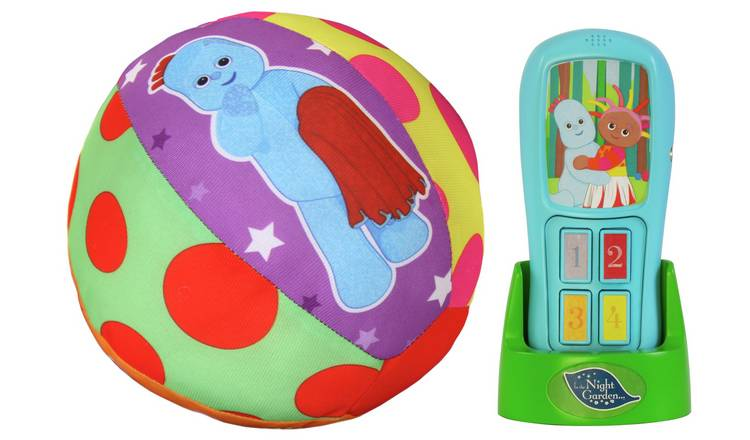 In The Night Garden and Motion Sensor Ball Bundle