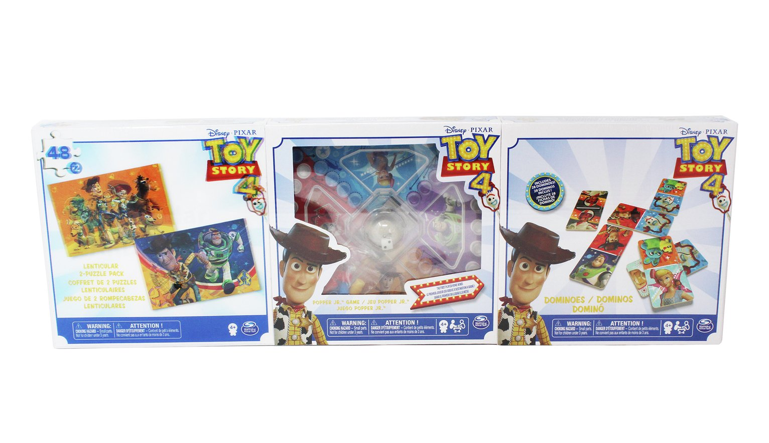 Toy Story 4 Game Bundle - 3 Pack