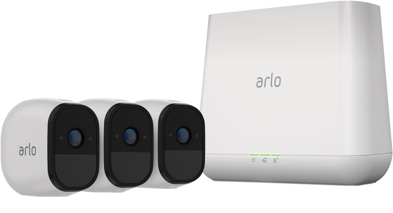 Arlo Pro VMS4330 Wireless Three Camera Security System