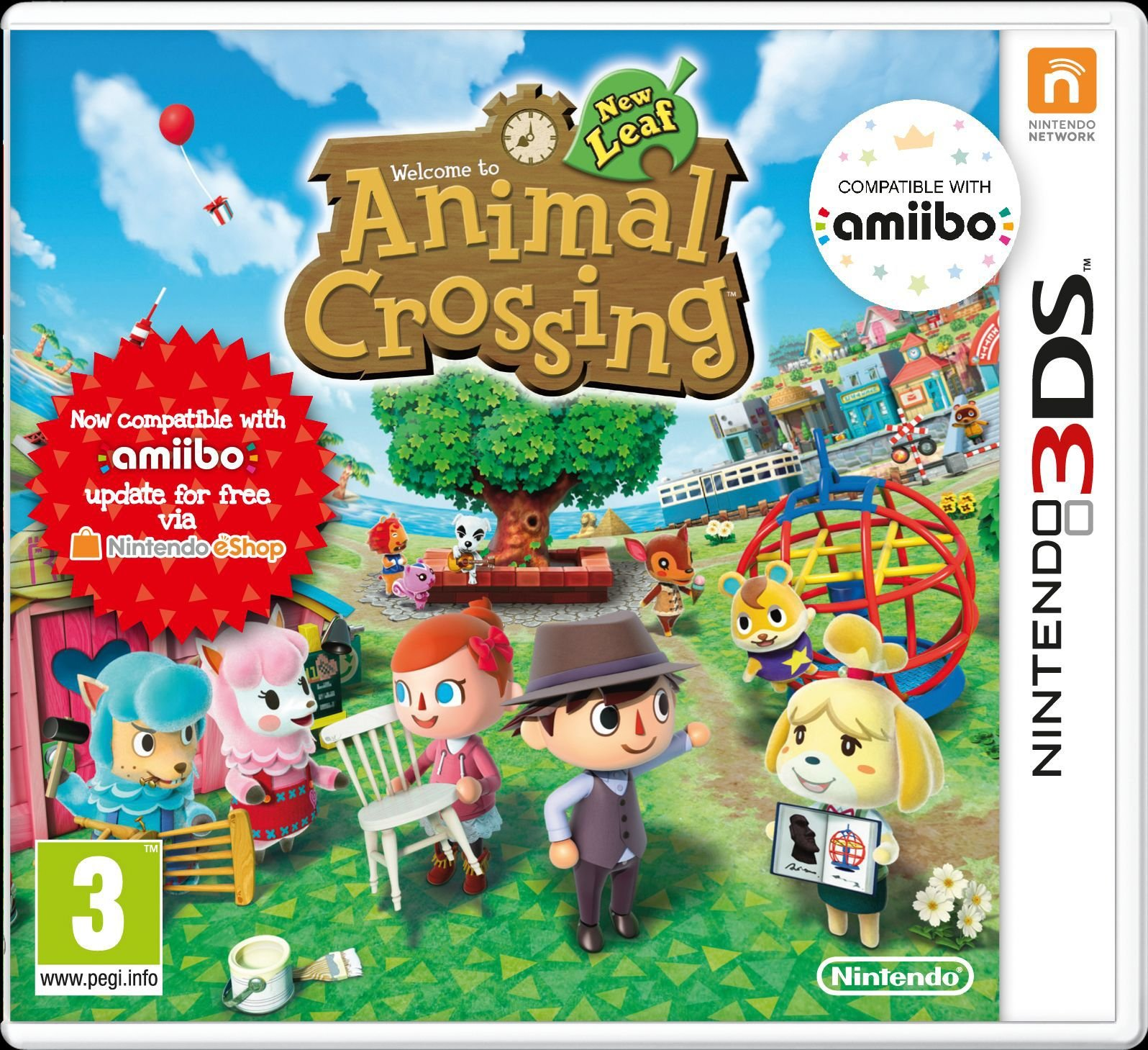Image of Animal Crossing - New Leaf - 3DS Game