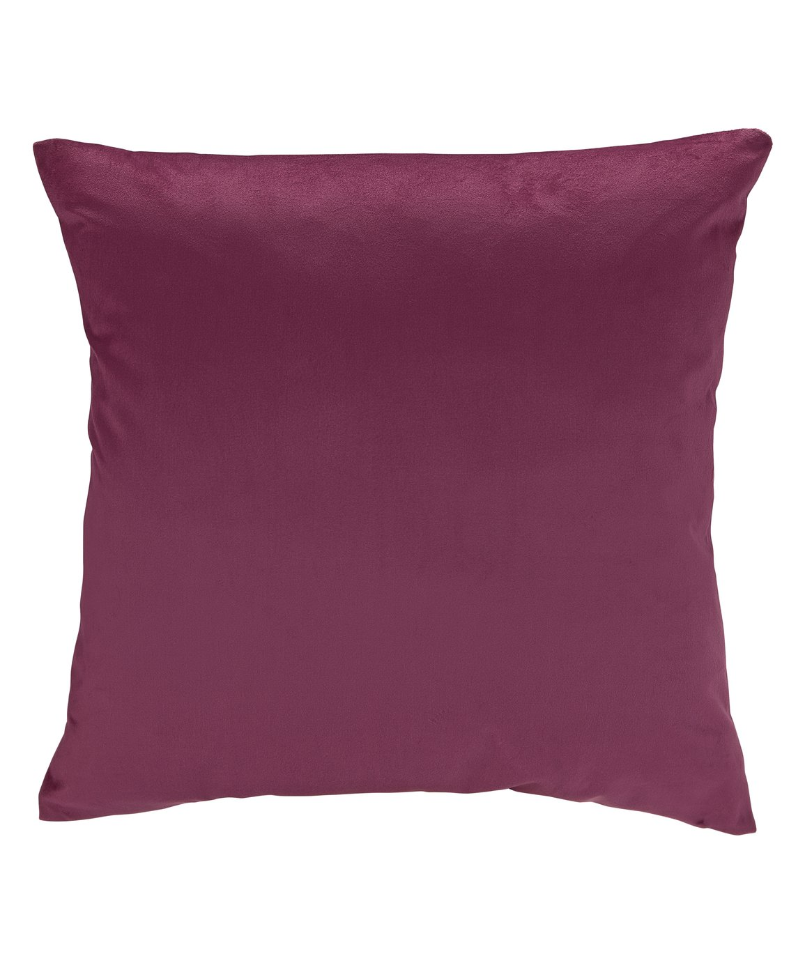 Argos Home Berry Christmas Velvet Cushion