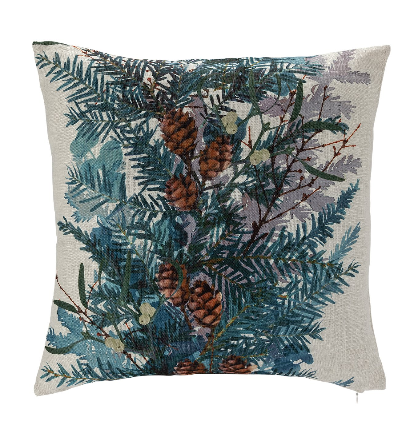Argos Home Winter's Cabin Foliage Cushion