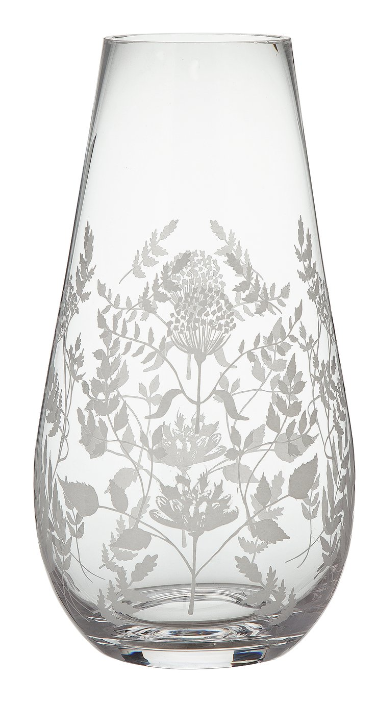 Argos Home Berry Christmas Berry Print Vase
