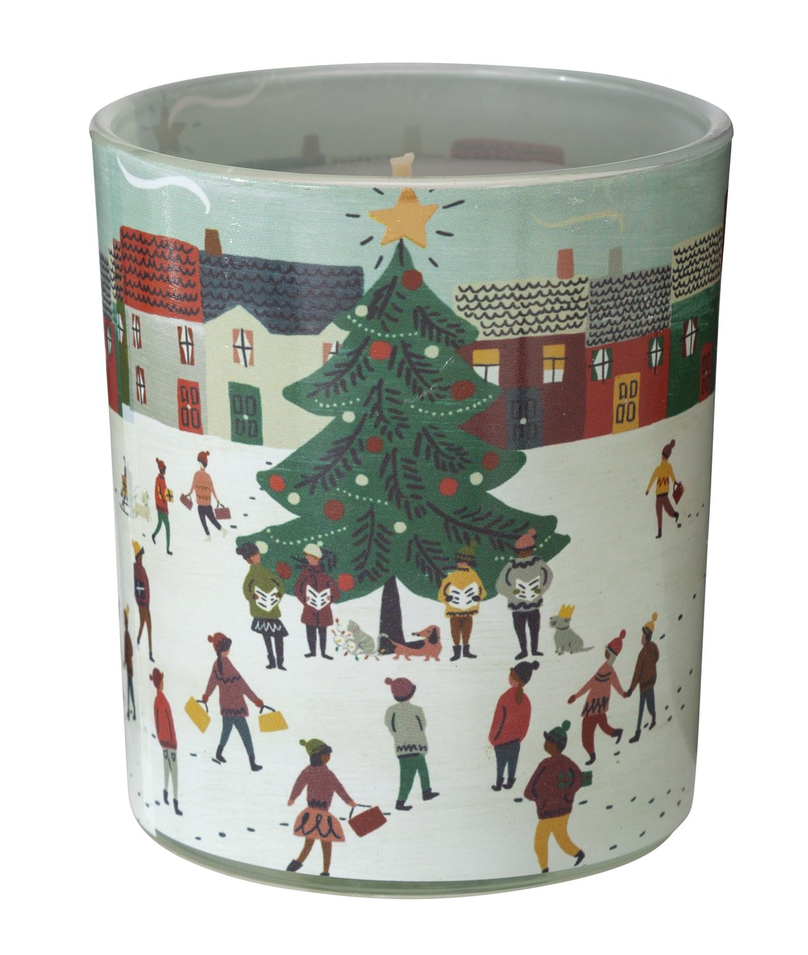 Argos Home Christmas Spice Small Candle