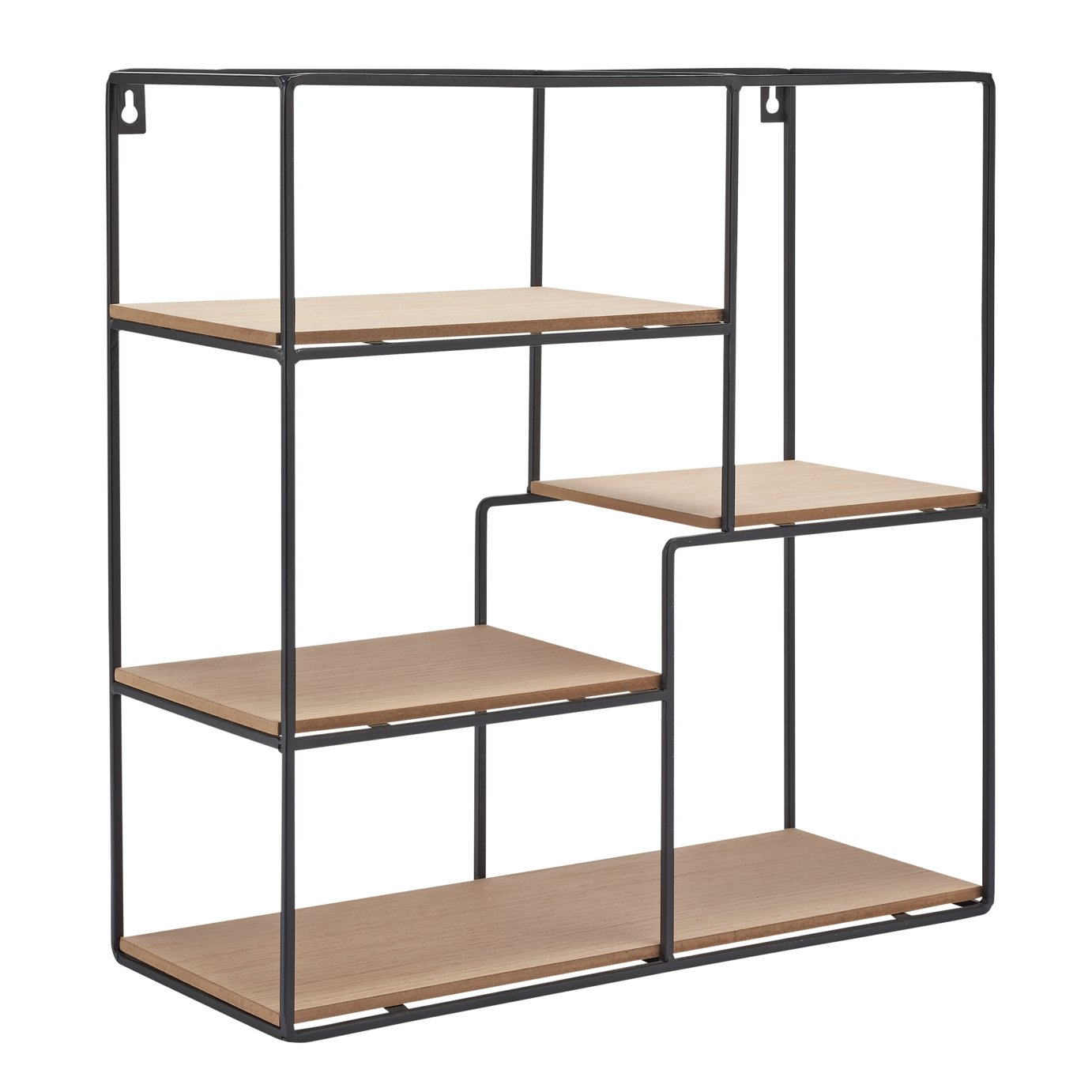 Argos Home Christmas Noir Storage Shelves