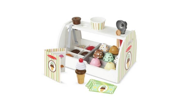 Buy Melissa Doug Wooden Ice Cream Counter Role Play Toys Argos