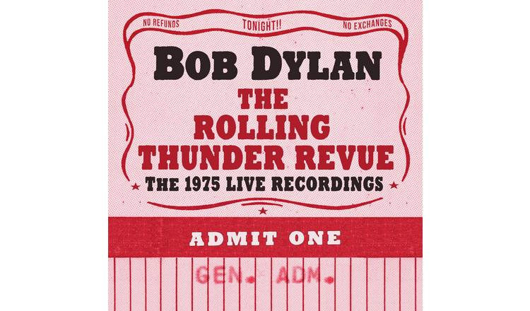 Bob Dylan The Rolling Thunder Review CD Collection