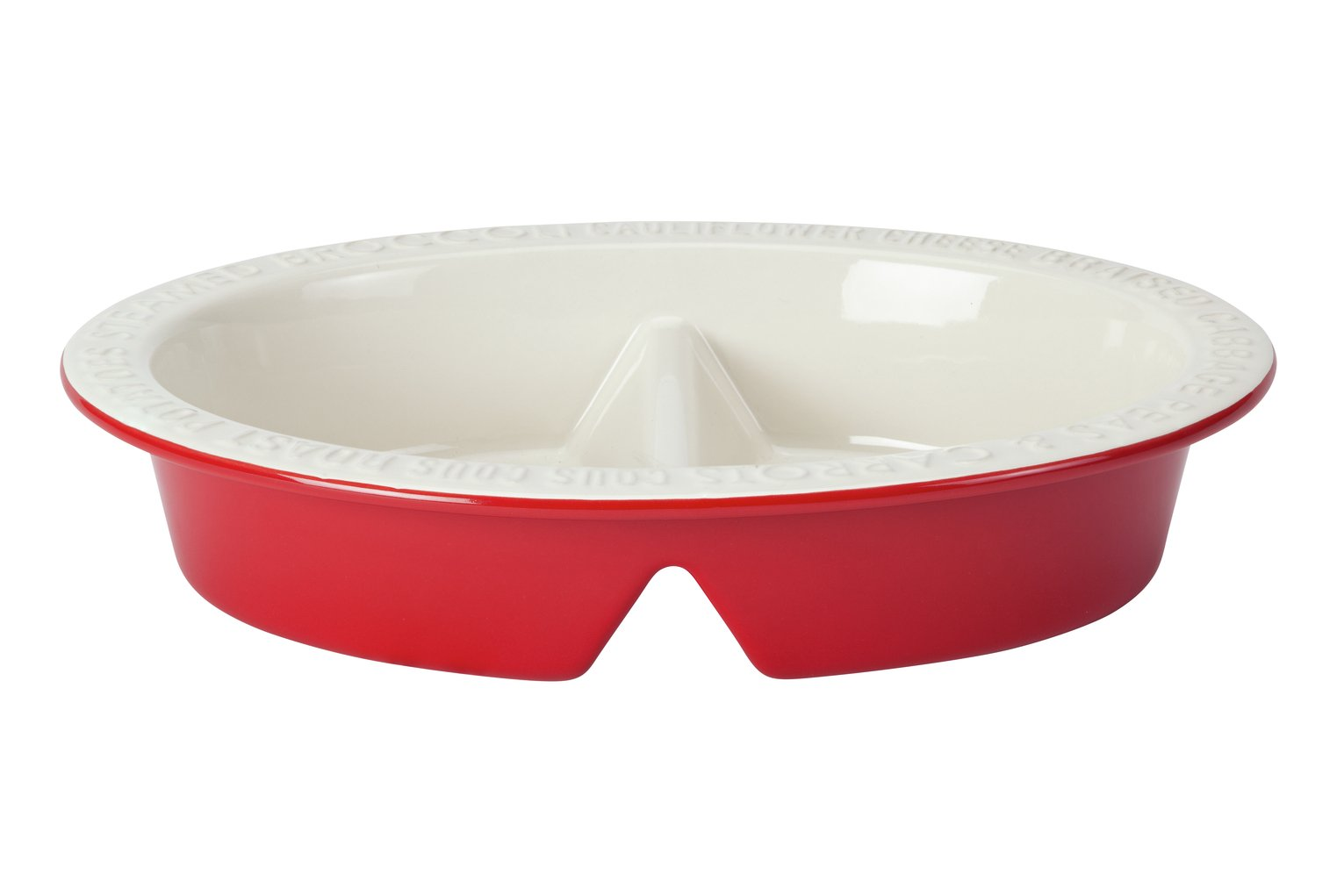 Argos Home Oval Divided Dish