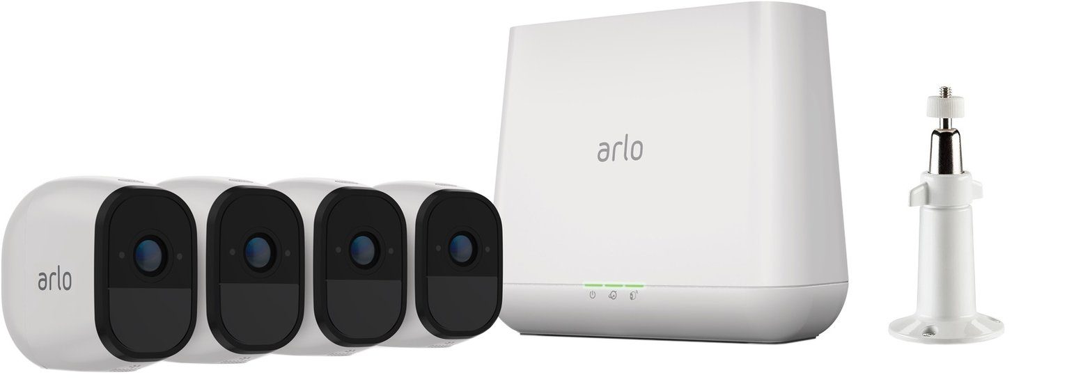 Arlo Pro 2 VMS4430P Wireless Four Camera Security System