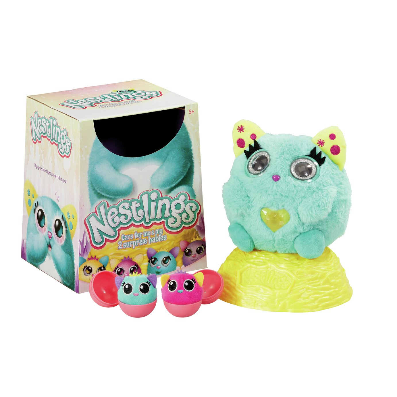 Nestlings Teal Series 1 Figures