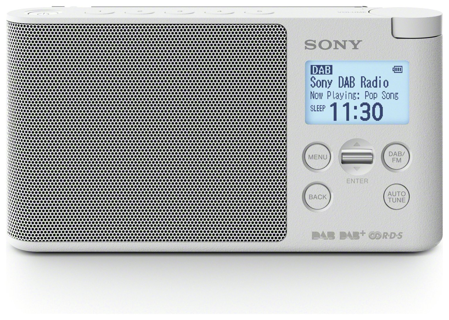 Sony DS41 DAB Radio - White