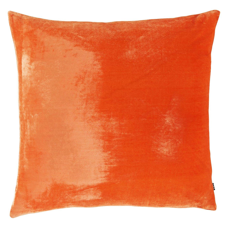 Argos Home Regency Velvet Cushion - Orange