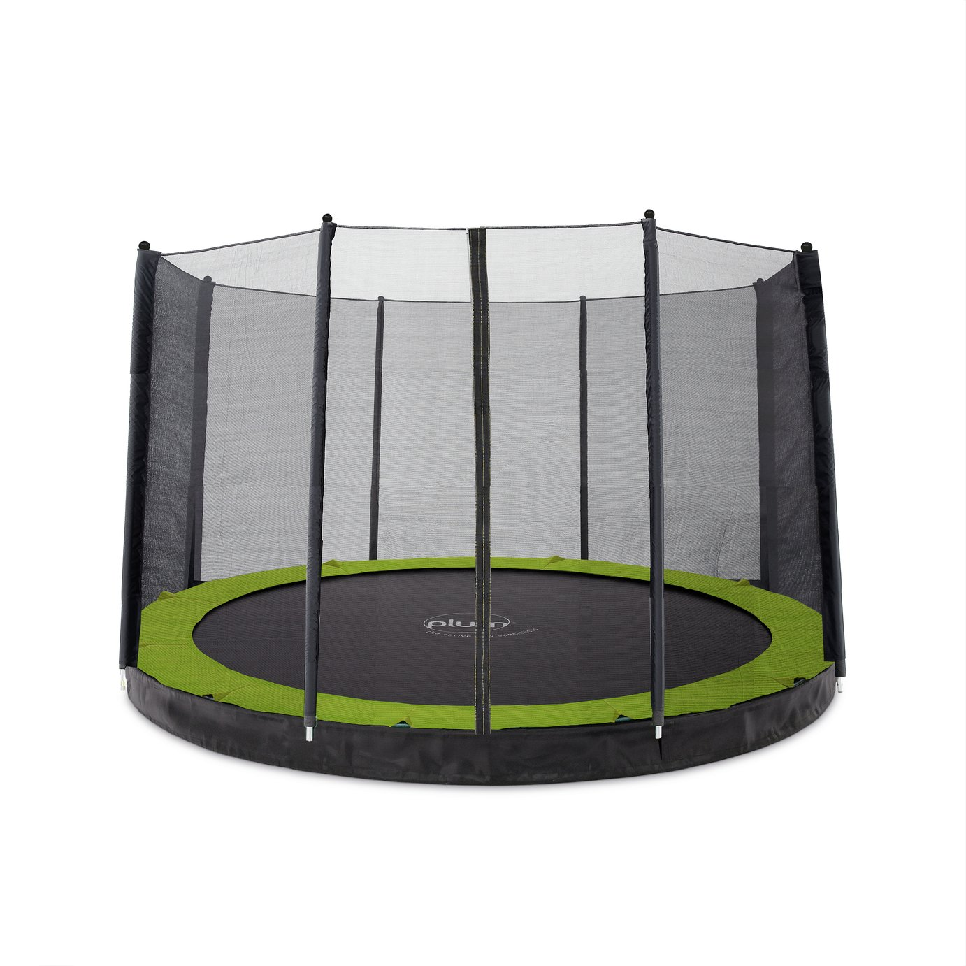 Plum 12ft In Ground Trampoline with Enclosure