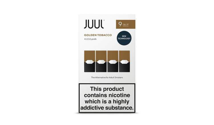 JUUL Golden Tobacco PODs 9mg