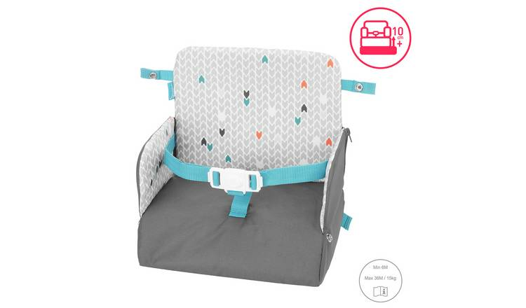Badabulle Yummy Travel Booster Seat - Grey