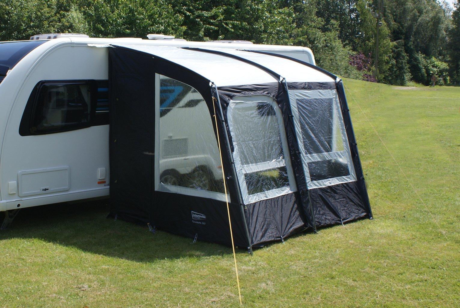 Leisurewize Equinox 260 3 Man Camping Caravan Porch Awning