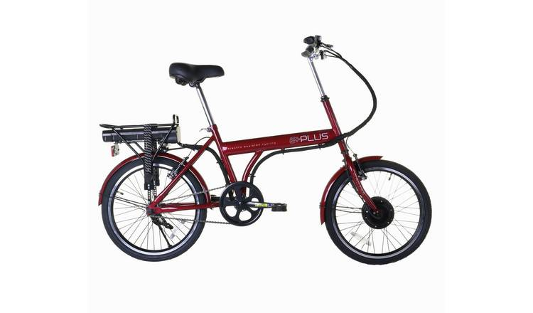 E-Plus Red Mantra 20 inch Wheel Size Unisex Electric Bike