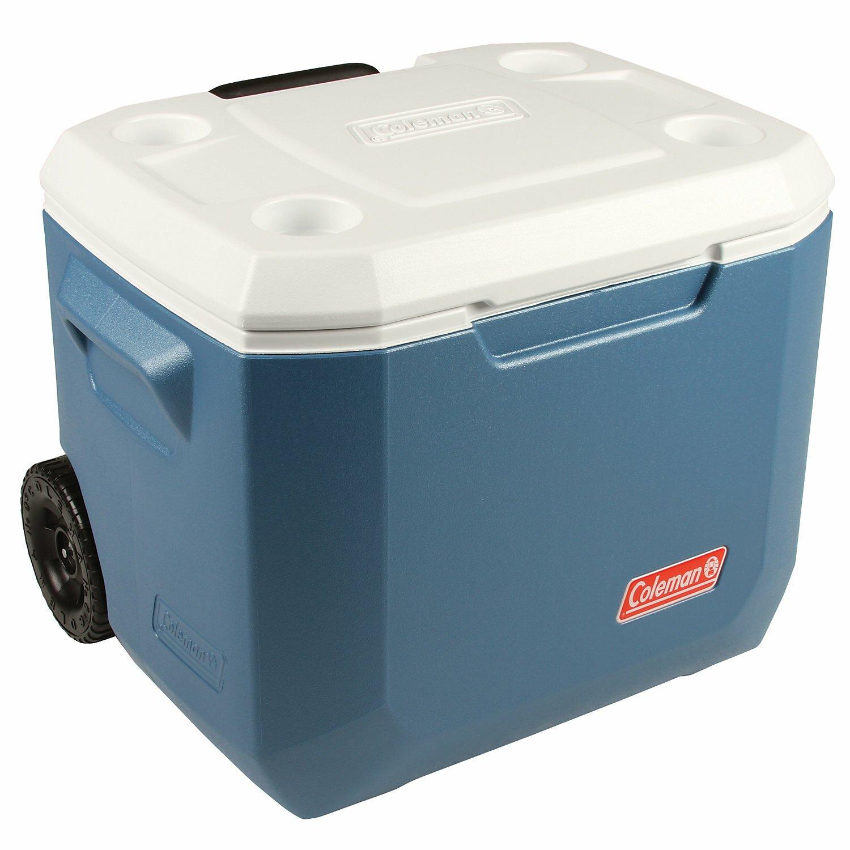 Coleman 47L QT Xtreme Wheeled Cooler - Blue