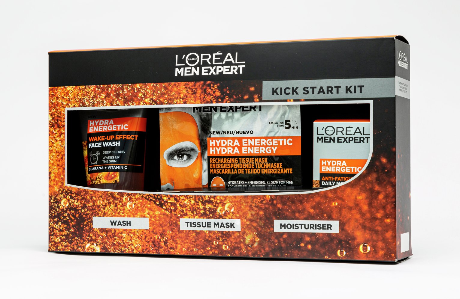 L'Oreal Paris Men Expert Kickstart Kit