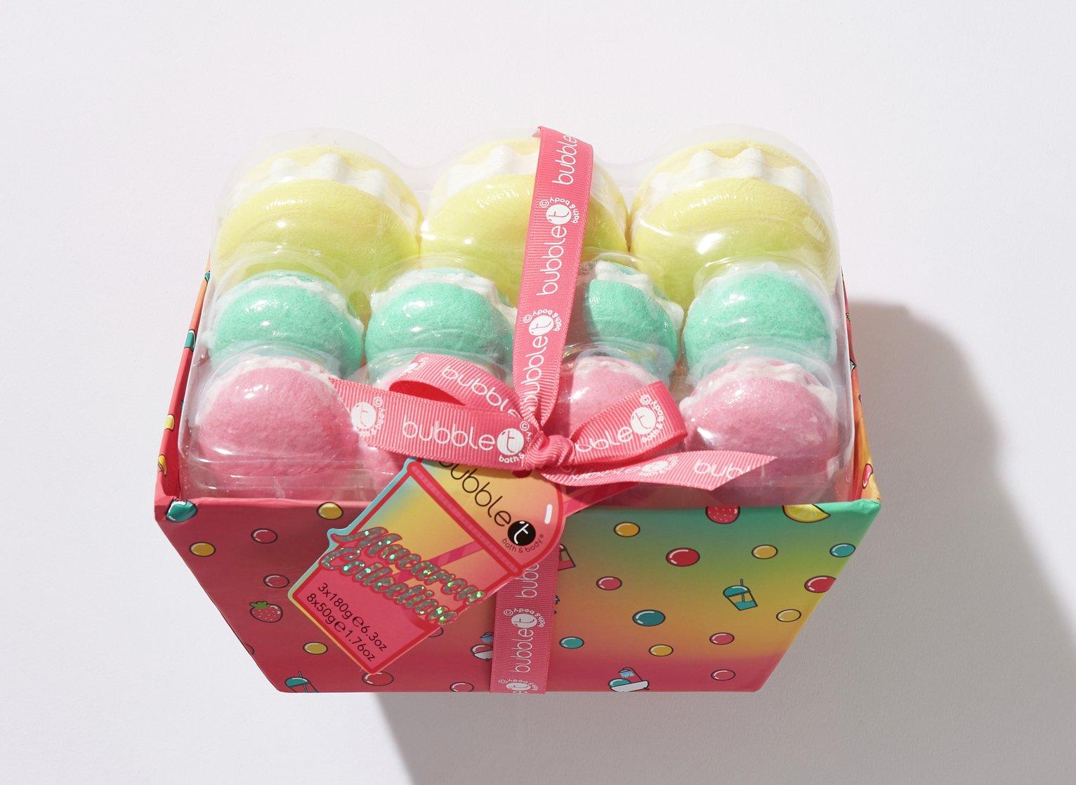 Bubble T Cosmetics Bath Macaron Delight