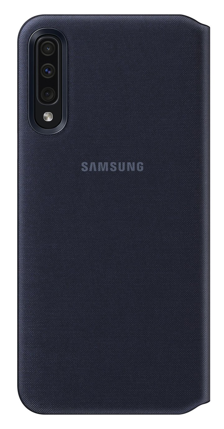 Samsung Galaxy A50 Wallet Phone Cover - Black