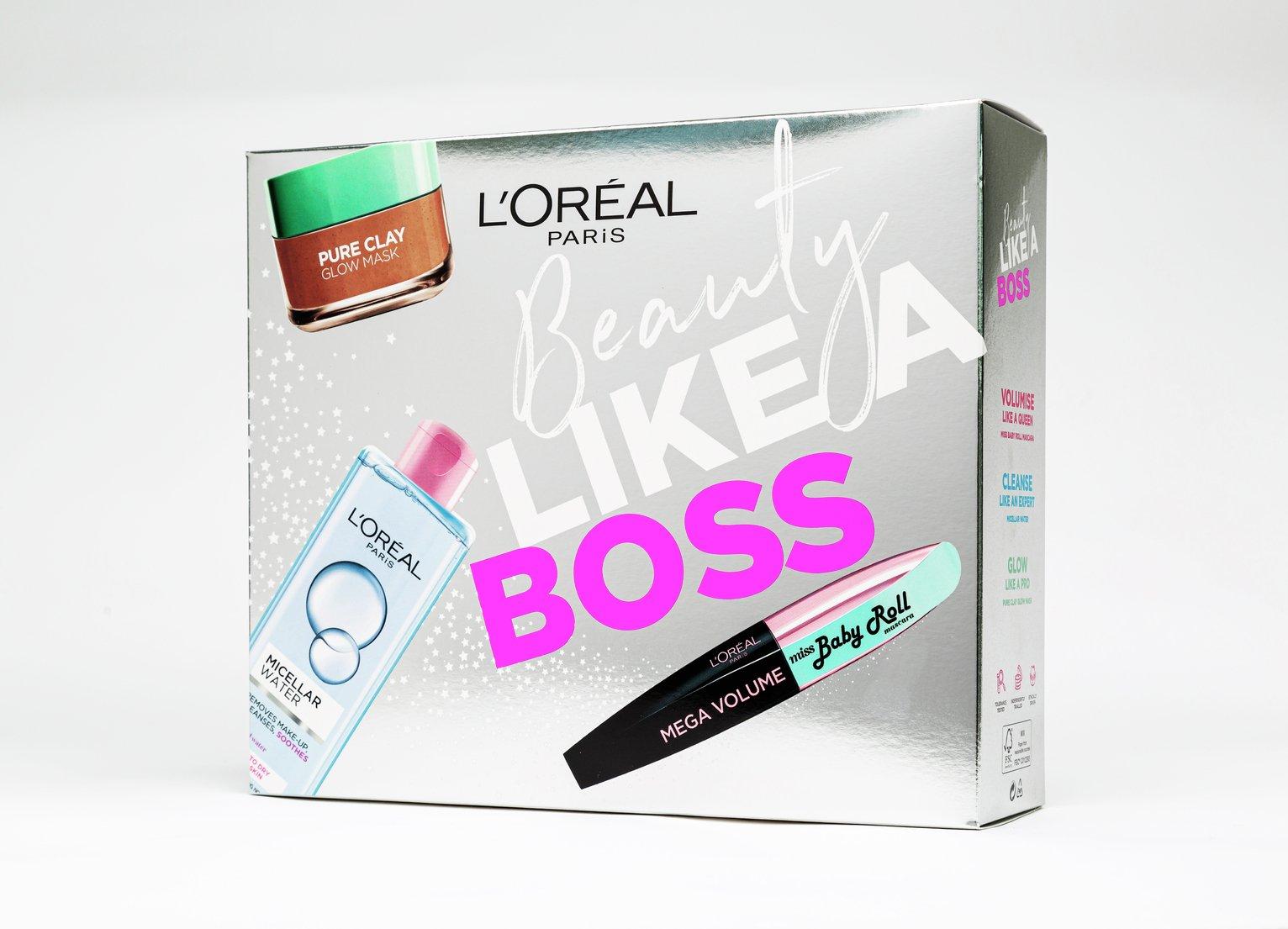 L'Oreal Paris Beauty Like A Boss Gift Set