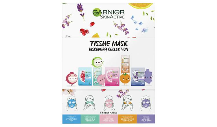 Garnier Tissue Mask Discovery Collection Kit