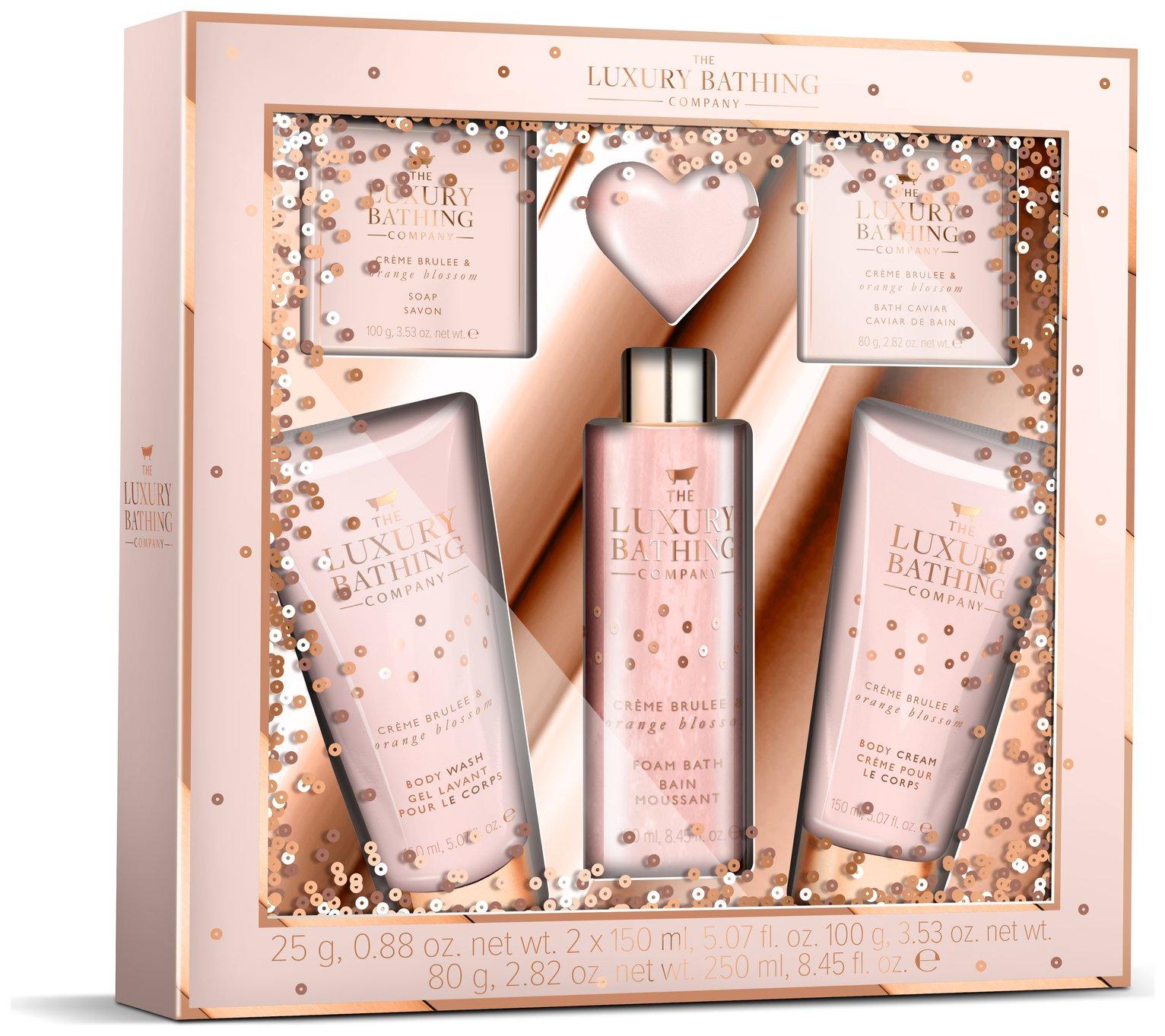 The Luxury Bathing Company Creme Brule Gift Set