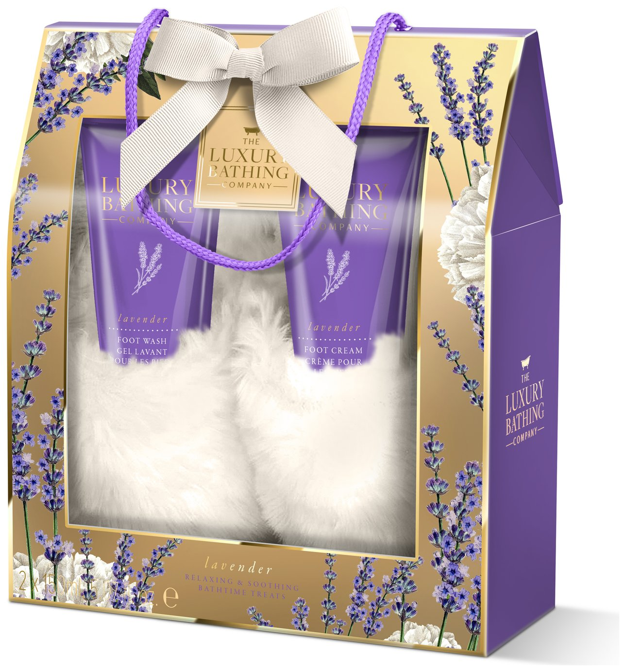 The Luxury Bathing Company Grace Cole Lavender Cosy Toes