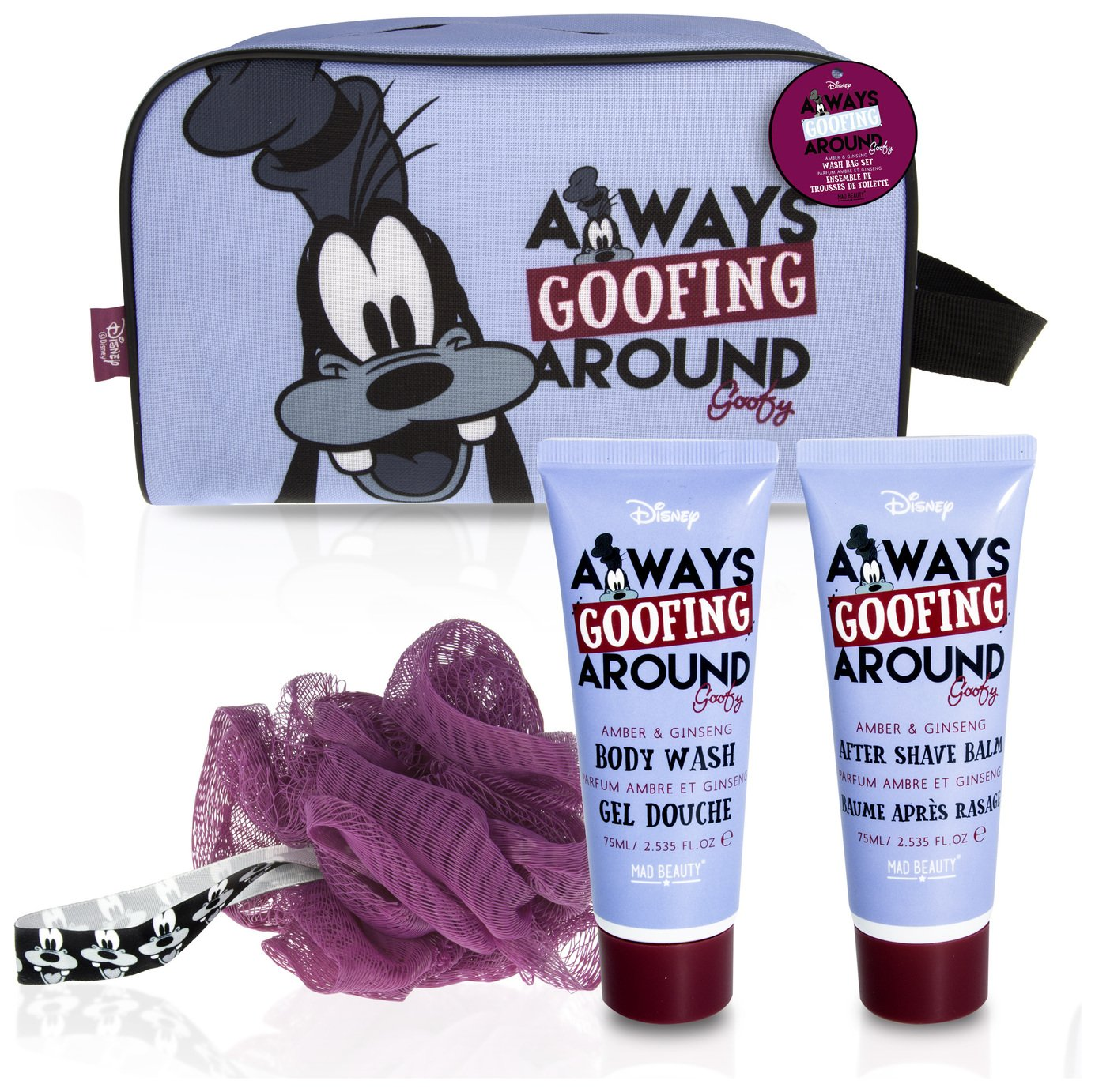 Disney Goofy Wash Bag Gift Set