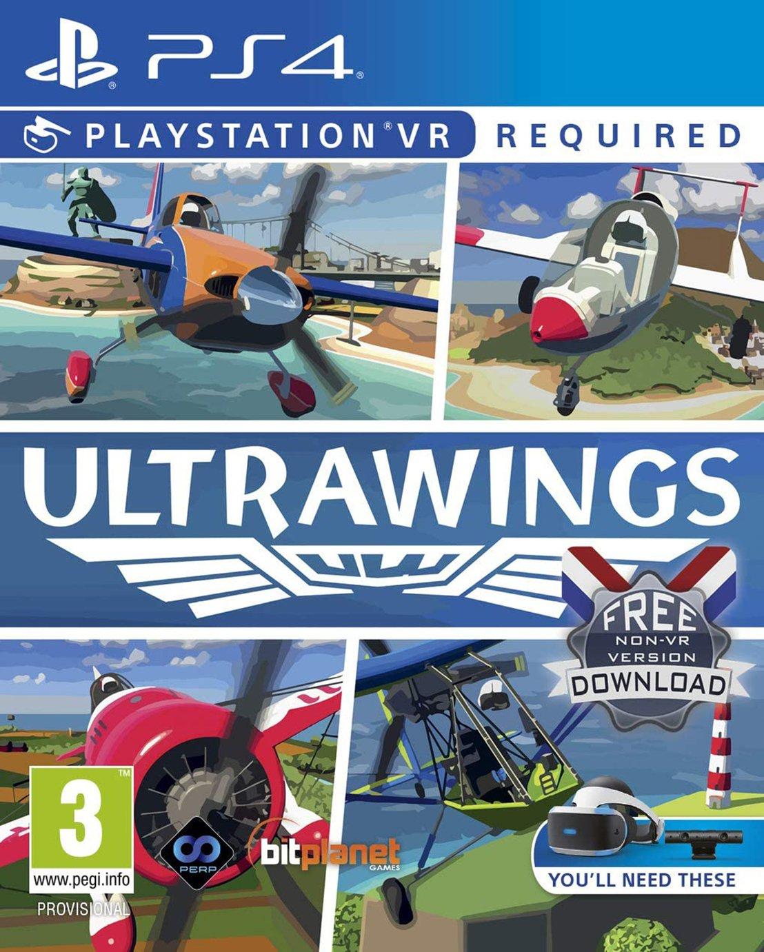 Ultrawings PS VR Game (PS4)