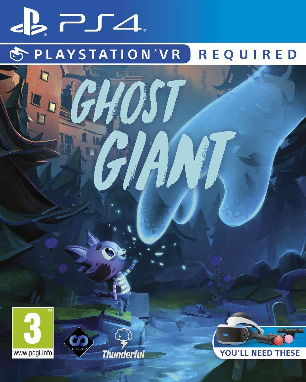 Ghost Giants PS VR Game (PS4)