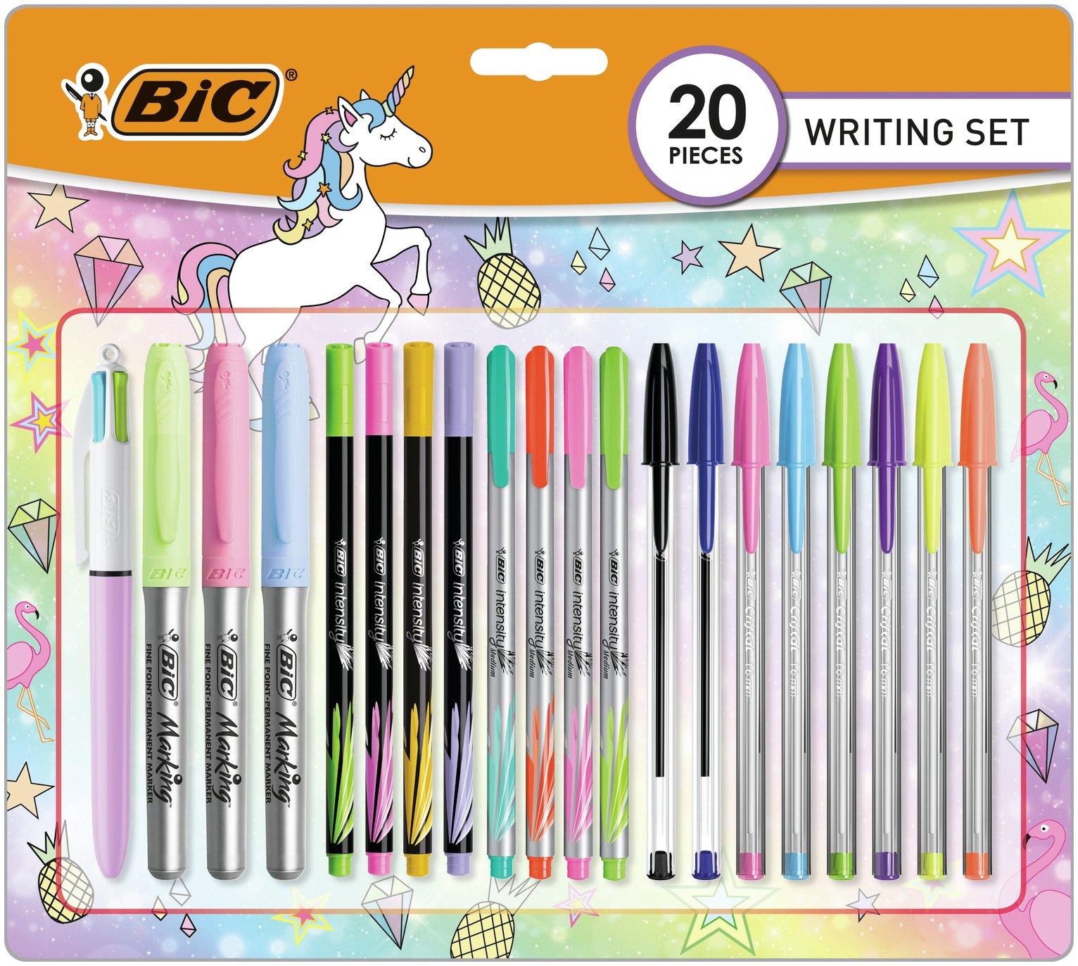 BIC Pastel Writing 20 Piece Set