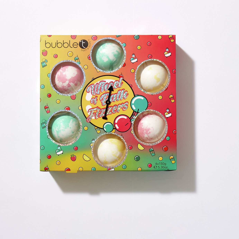 Bubble T Cosmetics Wheel of Fizz Large Bath Fizzers