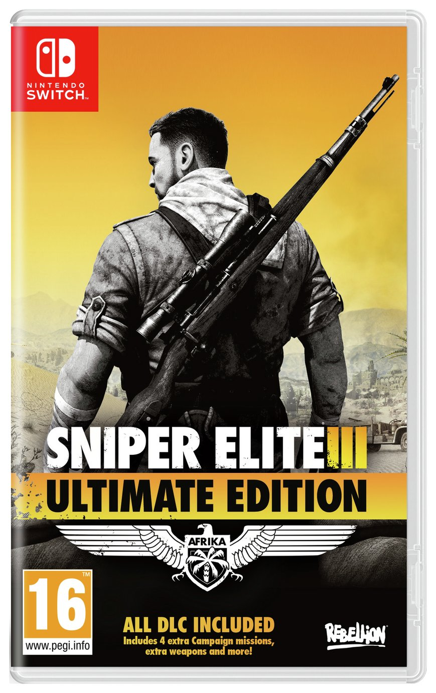 Sniper Elite 3 Ultimate Edition Nintendo Switch Game