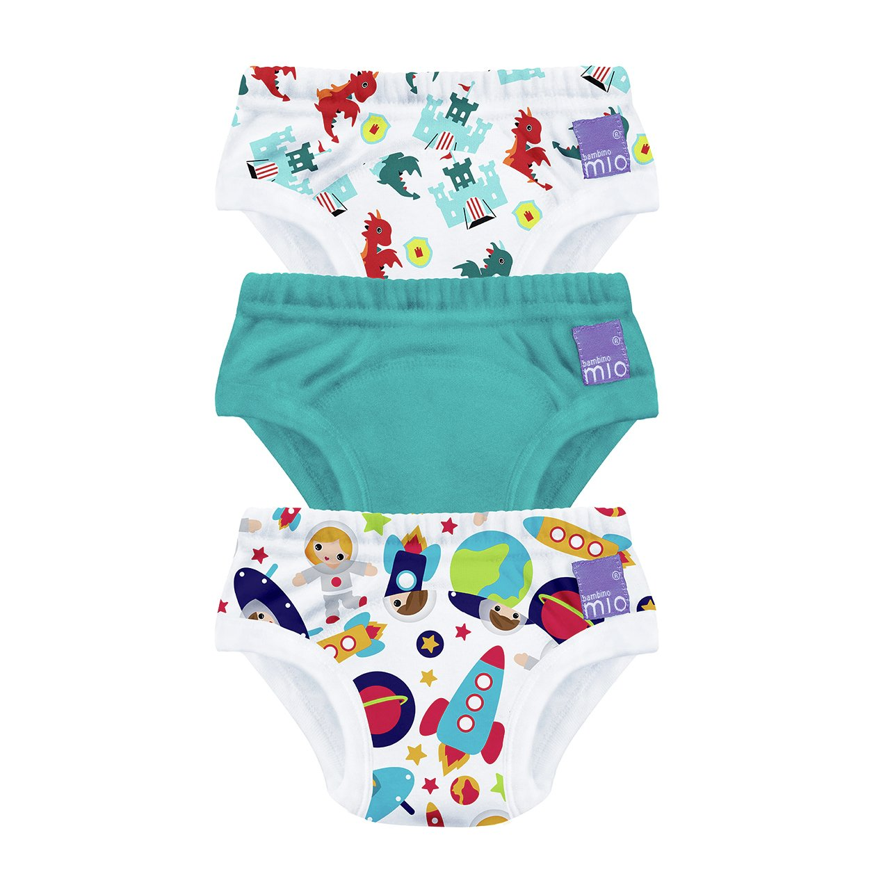 Bambino Mio Training Pants 2-3yrs - 3 Pack