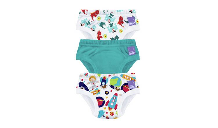 Bambino Mio Training Pants 3+yrs - 3 Pack