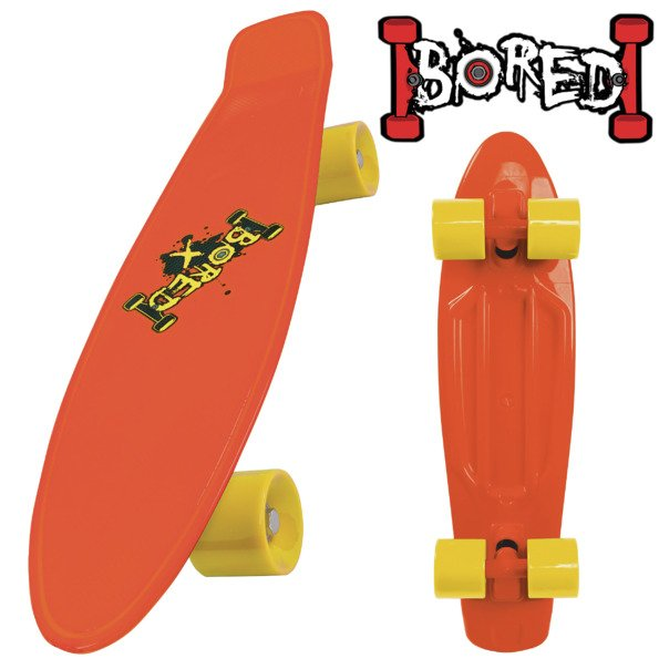 Bored Neon X Cruiser Mini Skateboard