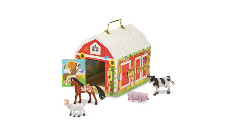 Melissa & Doug Latches Barn Playset