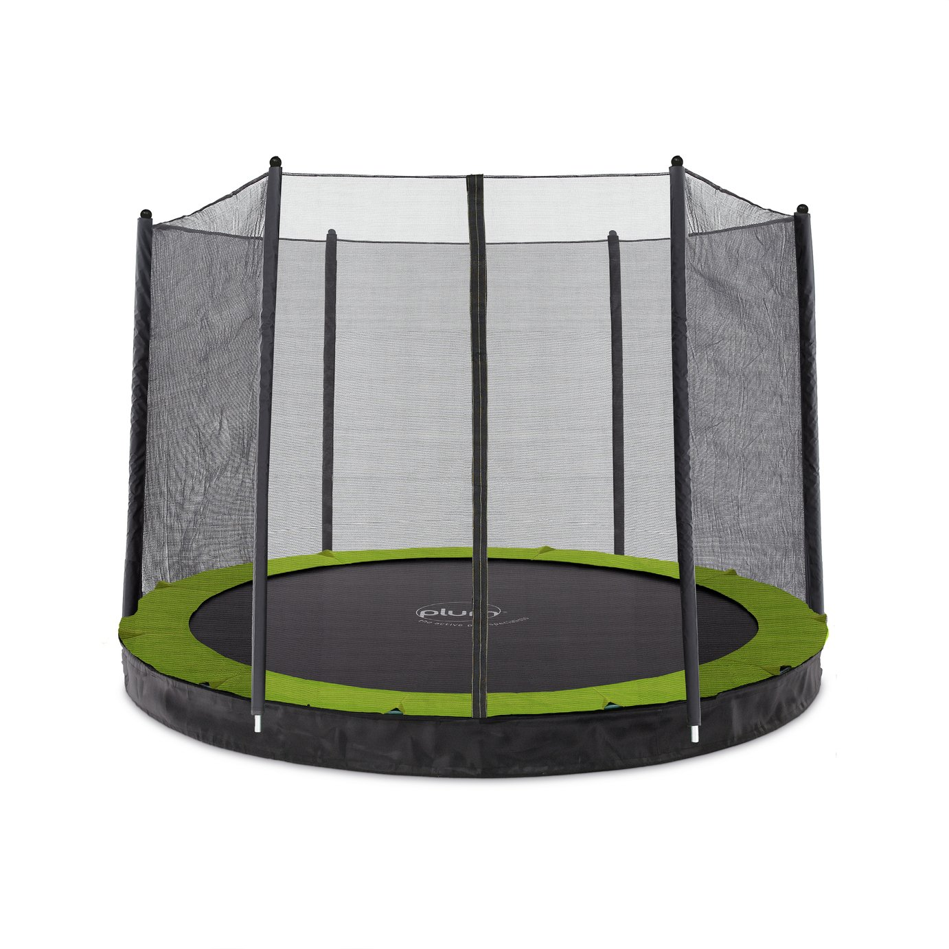 Plum 10ft In Ground Trampoline with Enclosure