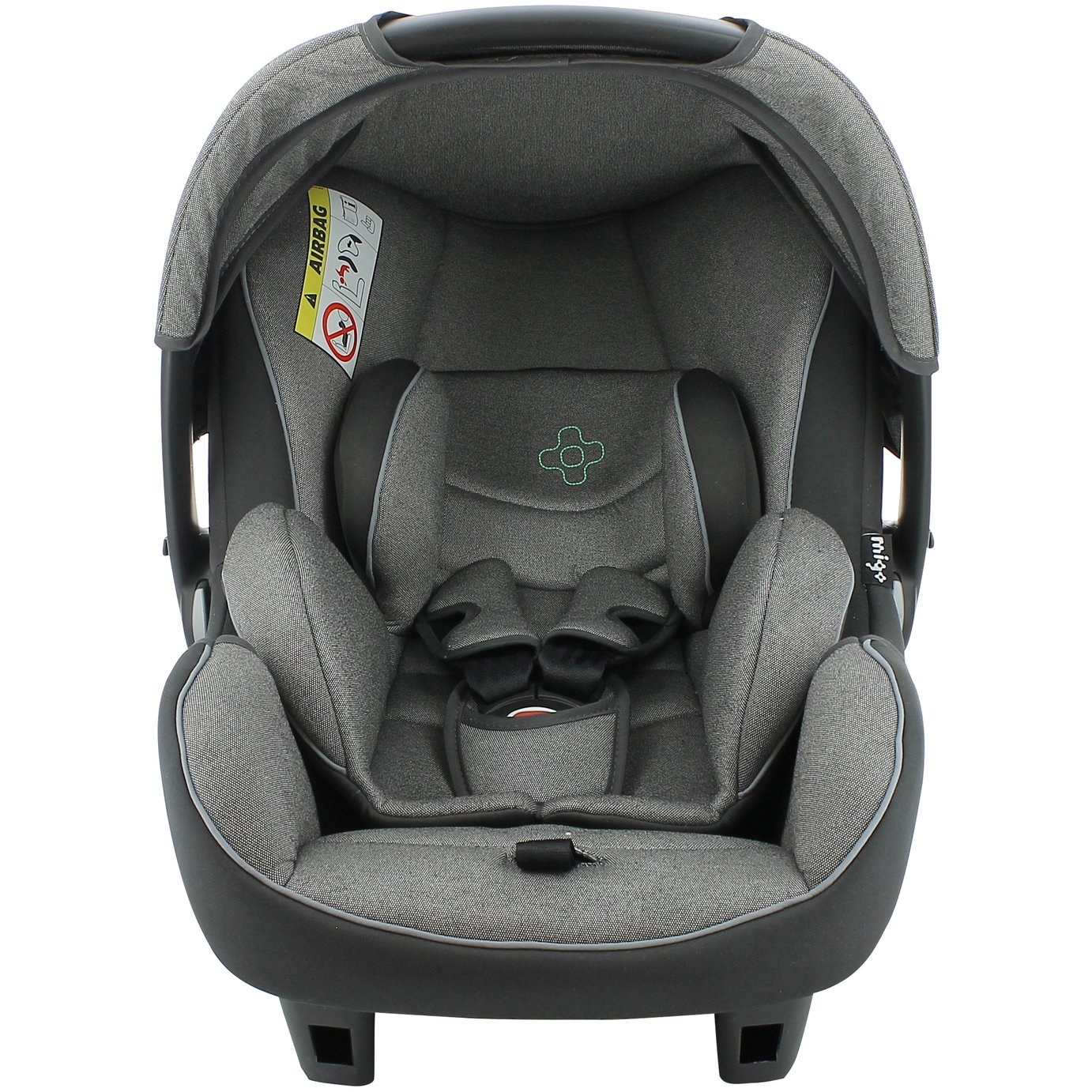 Migo Beone Platinum Group 0  Baby Car Seat - Grey