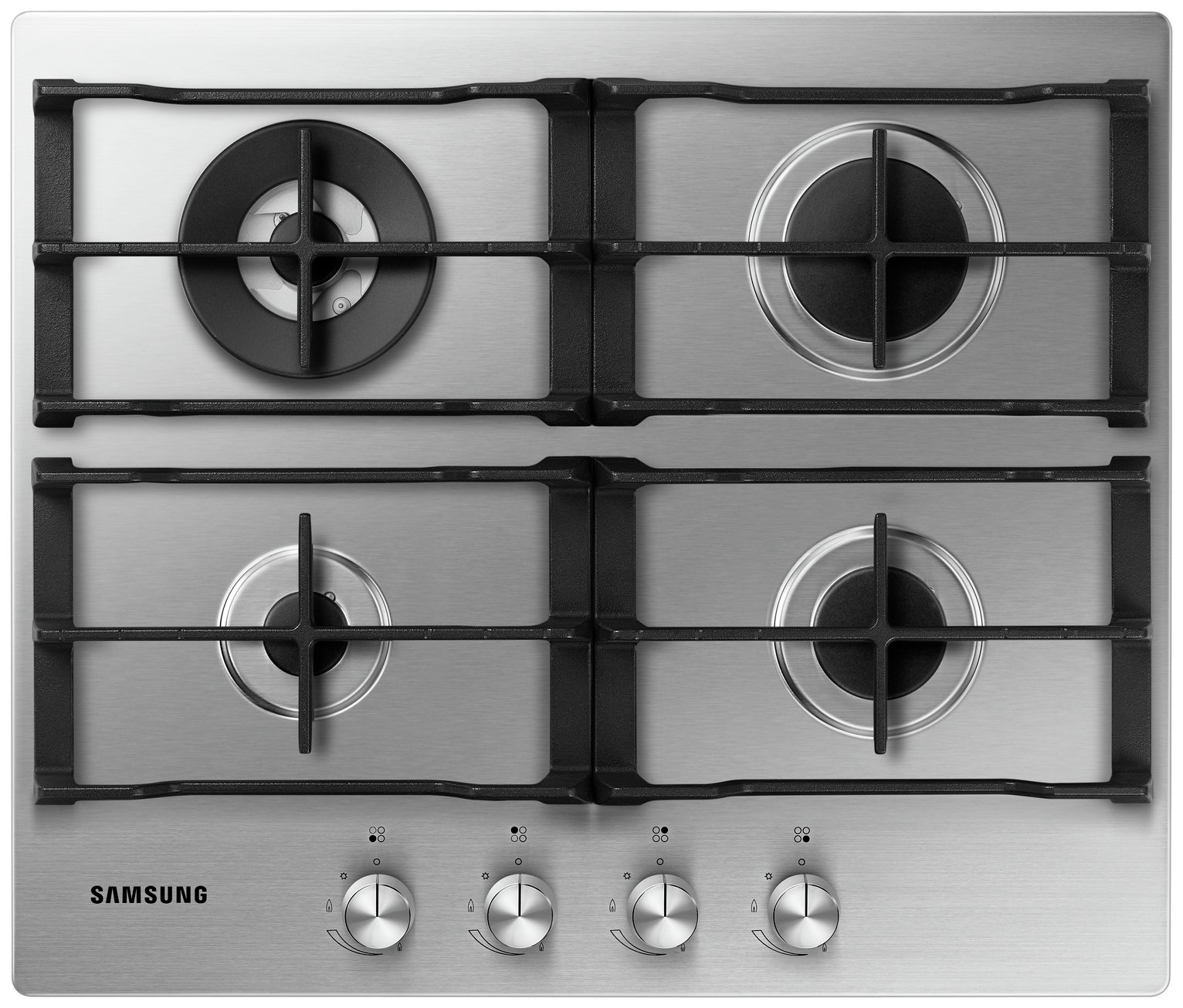 Samsung NA64H3030AS Gas Hob - Stainless Steel