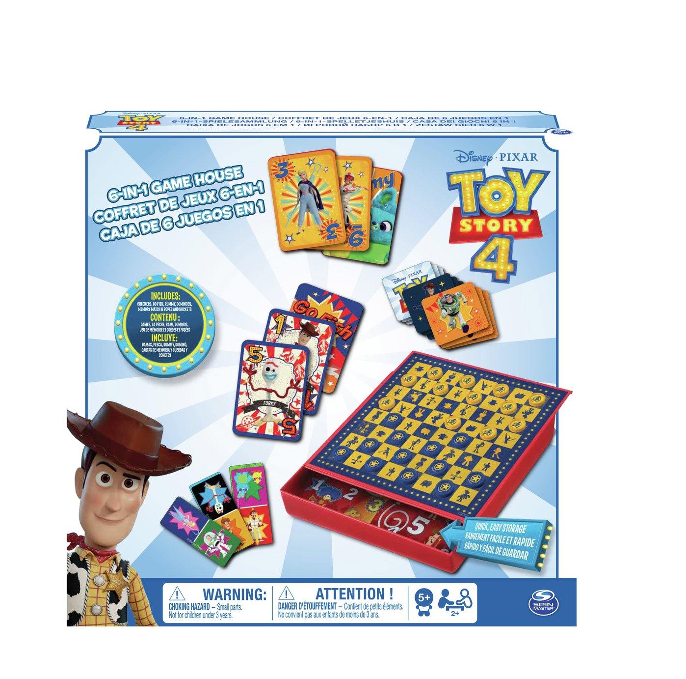 Toys Story 6-in-1 Game Set